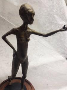 Bronze woman